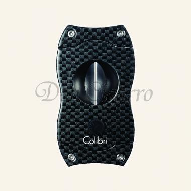 Colibri Zigarren-Abschneider V-Cut Carbon-Druck