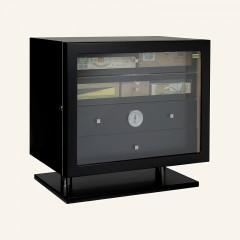 Adorini Humidor Varese Deluxe schwarz