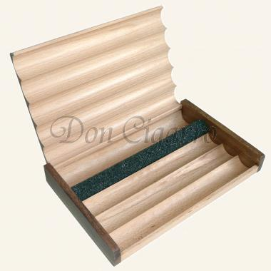 Geschenkbox fuer 5 Zigarren Holz lackiert
