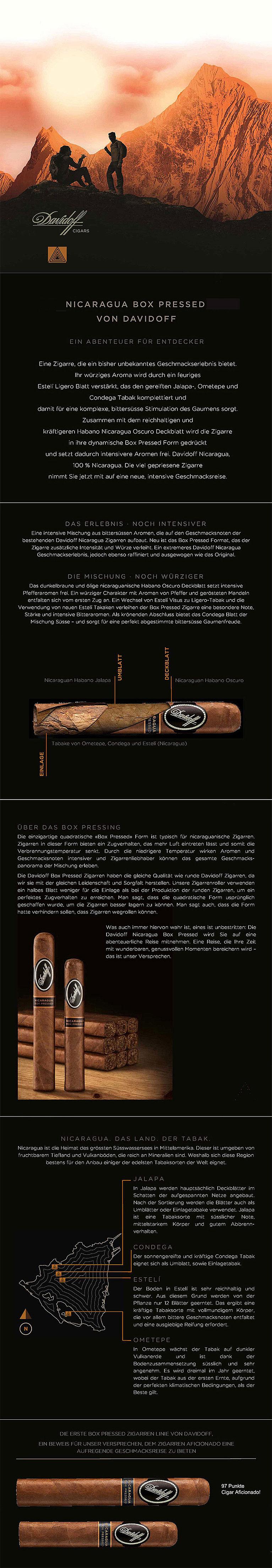 Davidoff Nicaragua Box Pressed Zigarren
