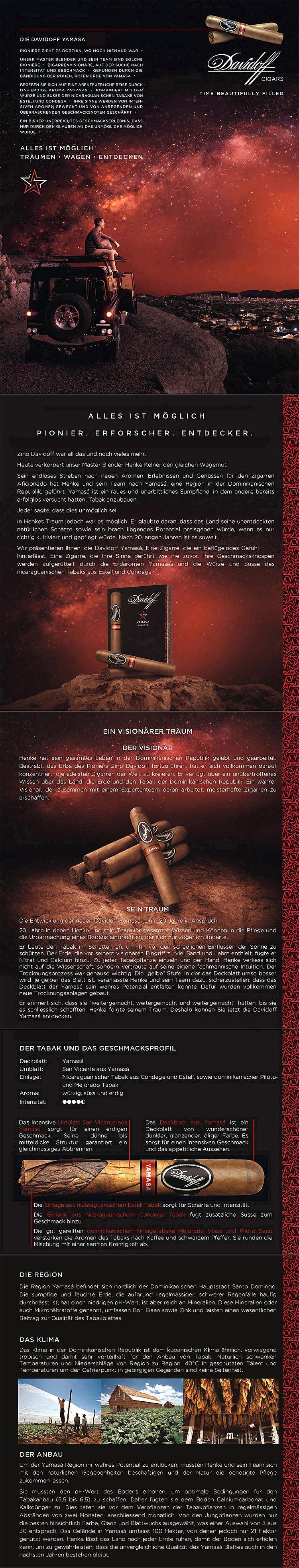 Davidoff Yamasa Zigarren