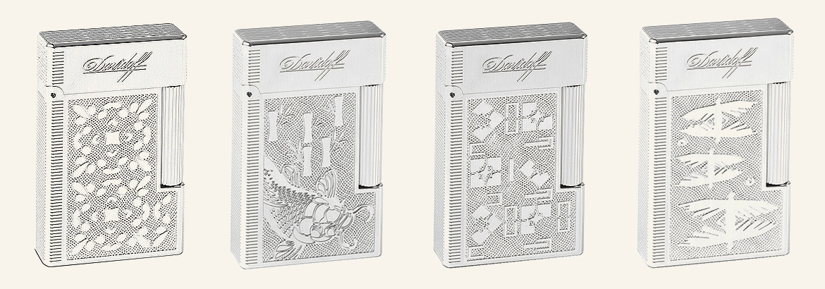 Davidoff 50 Years Prestige Lighters  Davidoff
