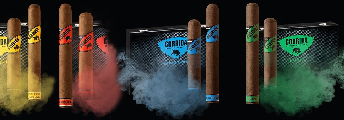 CORRIDA offers you 4 intriguing cigar series