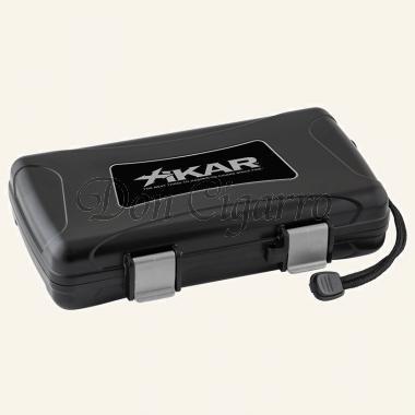 Xikar Reisehumidor 205XI schwarz für 5 Zigarren