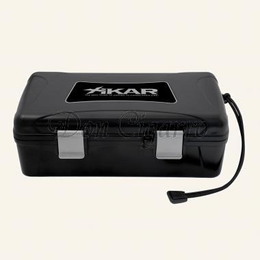 Xikar Reisehumidor 210XI schwarz für 10 Zigarren