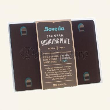 Boveda mounting plate for 1 320g humidipak