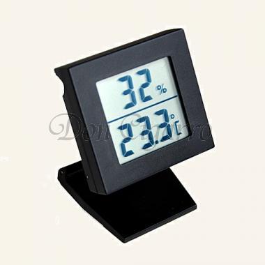 DCO digital hygrometer black